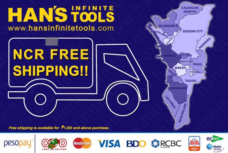 NCR Free Shipping