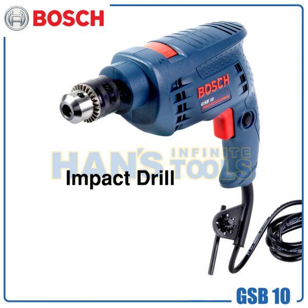 Bosch Gsb 10 Drill 500w Hans Infinite Tools