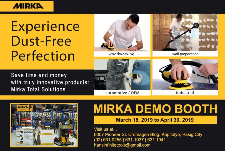 Mirka Demo Booth Service
