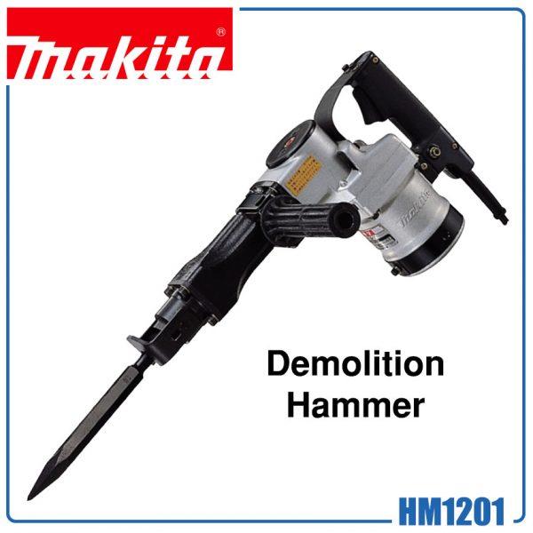 Makita Hm1201 Demolition Hammer 21mm Hex Shank Hans Infinite Tools