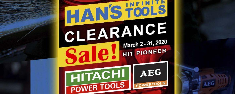 Clearance Sale – Hitachi & AEG Power Tools
