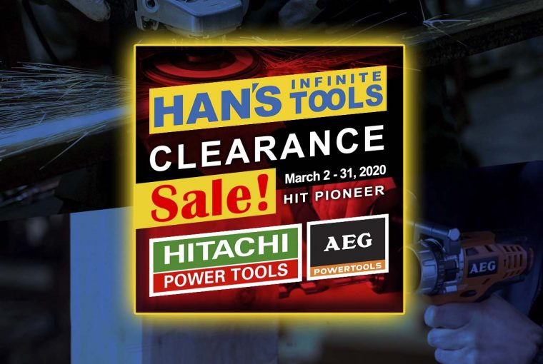 Clearance Sale – Hitachi & AEG Power Tools